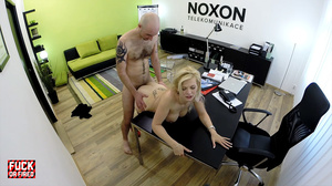 Hot blonde bitch in sexy stockings gets  - XXX Dessert - Picture 8