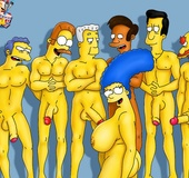 Ladies from Simpsons porn enjoy gangbanging together with boobilicious