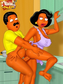 Ebony dreamboats from porn Cleveland Show and other - Picture 3