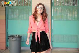 black, skirt, stranger, teen