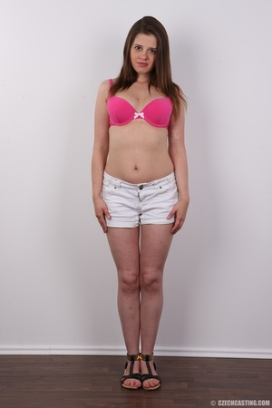 Innocent looking brunette shows off lust - XXX Dessert - Picture 3