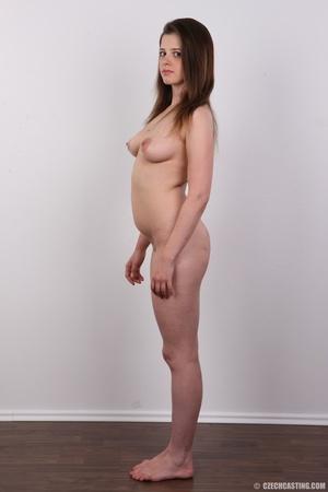 Innocent looking brunette shows off lust - XXX Dessert - Picture 14