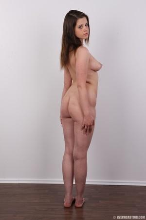 Innocent looking brunette shows off lust - XXX Dessert - Picture 16