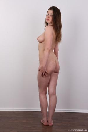 Innocent looking brunette shows off lust - XXX Dessert - Picture 17