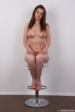 Innocent looking brunette shows off lust - XXX Dessert - Picture 18