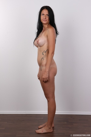 Black haired chick in green top and blac - XXX Dessert - Picture 15