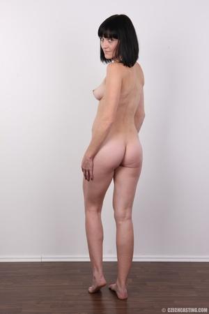 Cute black hair damsel shows off perky f - XXX Dessert - Picture 17