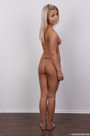 Cute blonde in pink shirt and black pant - XXX Dessert - Picture 17