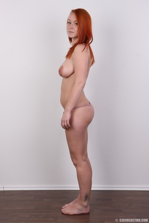 Sexy redhead with inviting big tits, pie - XXX Dessert - Picture 10
