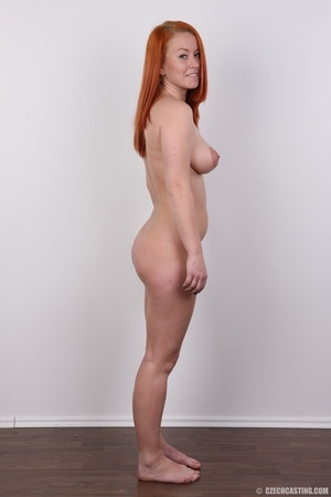Sexy redhead with inviting big tits, pie - XXX Dessert - Picture 15