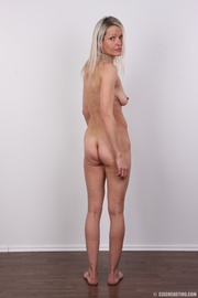 slim blonde milf with