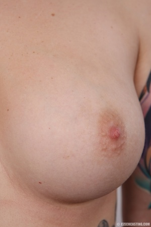 Tattooed pierced chick with big round ti - XXX Dessert - Picture 13