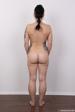 Tattooed pierced chick with big round ti - XXX Dessert - Picture 16