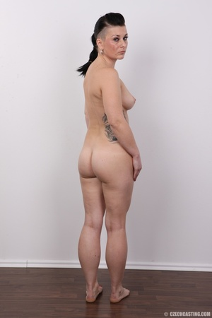 Tattooed pierced chick with big round ti - XXX Dessert - Picture 18