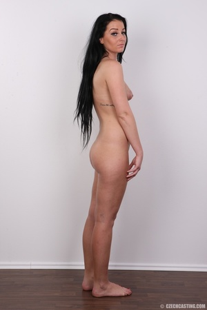 Sweet looking brunette with tattoos and  - XXX Dessert - Picture 17