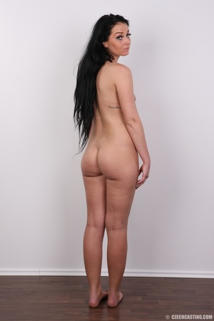 Sweet looking brunette with tattoos and  - XXX Dessert - Picture 20