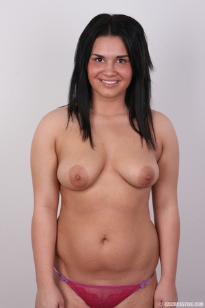 Chubby cute smiling chick with inviting  - XXX Dessert - Picture 11