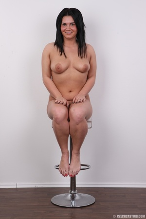 Chubby cute smiling chick with inviting  - XXX Dessert - Picture 19