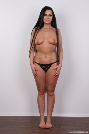 Hot dark hair and dark eyes milf proudly - XXX Dessert - Picture 9