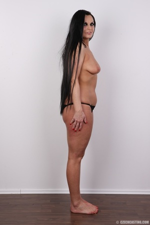 Hot dark hair and dark eyes milf proudly - XXX Dessert - Picture 10