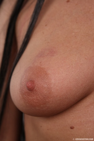 Hot dark hair and dark eyes milf proudly - XXX Dessert - Picture 12