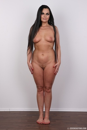 Hot dark hair and dark eyes milf proudly - XXX Dessert - Picture 14