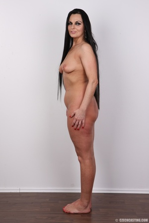 Hot dark hair and dark eyes milf proudly - XXX Dessert - Picture 15