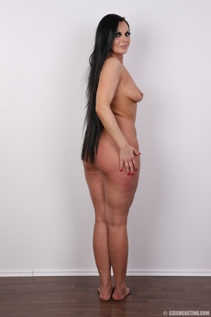 Hot dark hair and dark eyes milf proudly - XXX Dessert - Picture 17