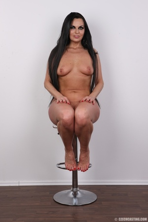Hot dark hair and dark eyes milf proudly - XXX Dessert - Picture 18