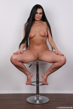 Hot dark hair and dark eyes milf proudly - XXX Dessert - Picture 19