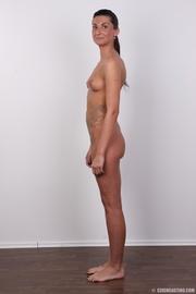 hot slim brunette black