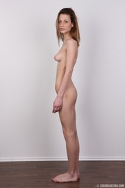 Made tall skinny brunette nude was