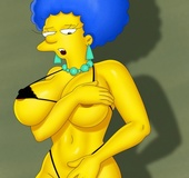 Big-titted vixens from porn Simpsons, Megamind and American Dad just adore
