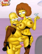 Porn Simpsons and Jetsons bitches can fit any long dong into their dirty