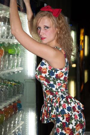 Mischievous blonde teeny in a sexy short - XXX Dessert - Picture 9