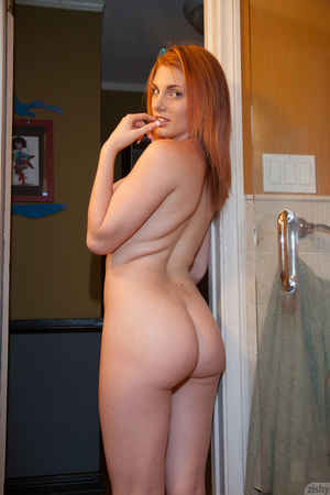 Boobilicious redhead naked in the shower - XXX Dessert - Picture 5