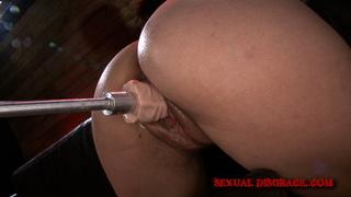 bondage, brunette, fucking, rough sex