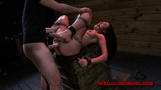blindfolded, pussy, rough sex, speculum
