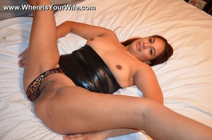 Hot latina mom in a skinny short dress s - XXX Dessert - Picture 12