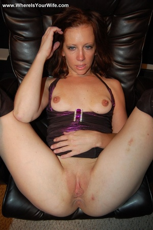 Ginger MILF in a dress and high boots sh - XXX Dessert - Picture 8