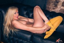 amateur, blonde, stockings, tattoo