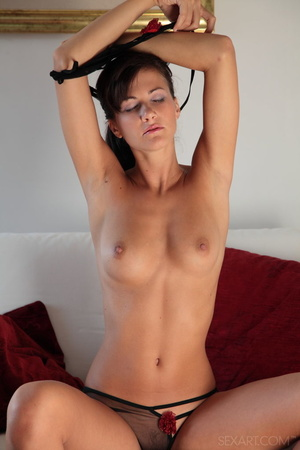 Sizzling siren in black see-through ling - XXX Dessert - Picture 7