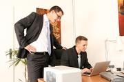 horny supervisor takes subordinates