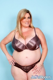 freckled fatty black panties
