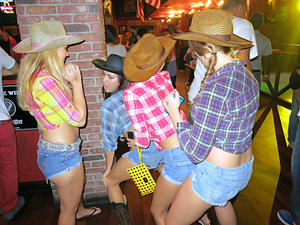 Awesome party f cowgirls ends with dirty - XXX Dessert - Picture 1