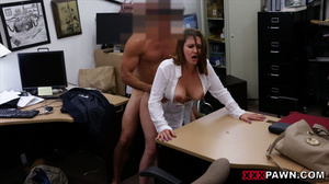 Big-titted office slut takes hot facial  - XXX Dessert - Picture 5