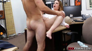 Big-titted office slut takes hot facial  - XXX Dessert - Picture 7
