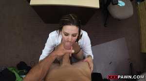 Big-titted office slut takes hot facial  - XXX Dessert - Picture 10