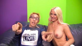 female ejaculation, group sex