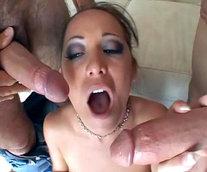 Chicks suffering from choking with thick - XXX Dessert - Picture 2